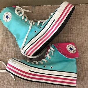 Converse Shoes - NWOT CONVERSE platform costume play unique parade